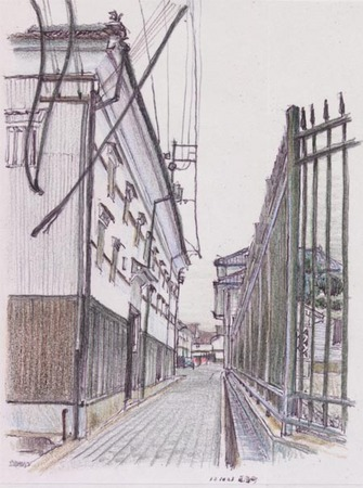 東広島市西条町、亀齢酒造酒蔵.jpg