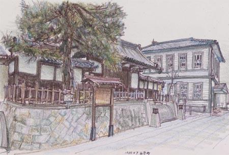 東広島市西条町、本陣跡と賀茂鶴酒造.jpg