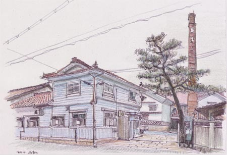 東広島市西条町、福美人酒造.jpg