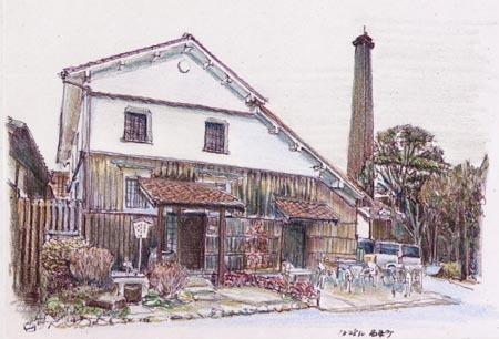 東広島市西条町、賀茂輝酒造土蔵.jpg