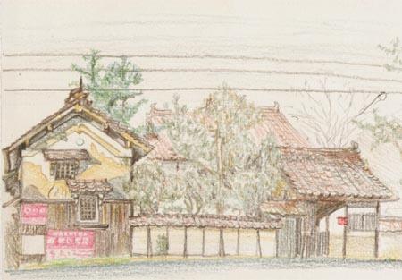 西条町、三永の民家.jpg