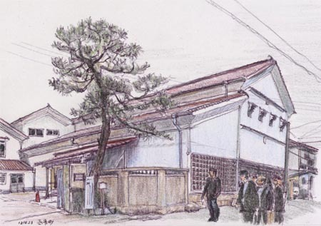 東広島市西条町、福美人酒造別角度.jpg
