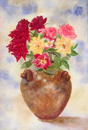 花瓶のミニバラ.jpg